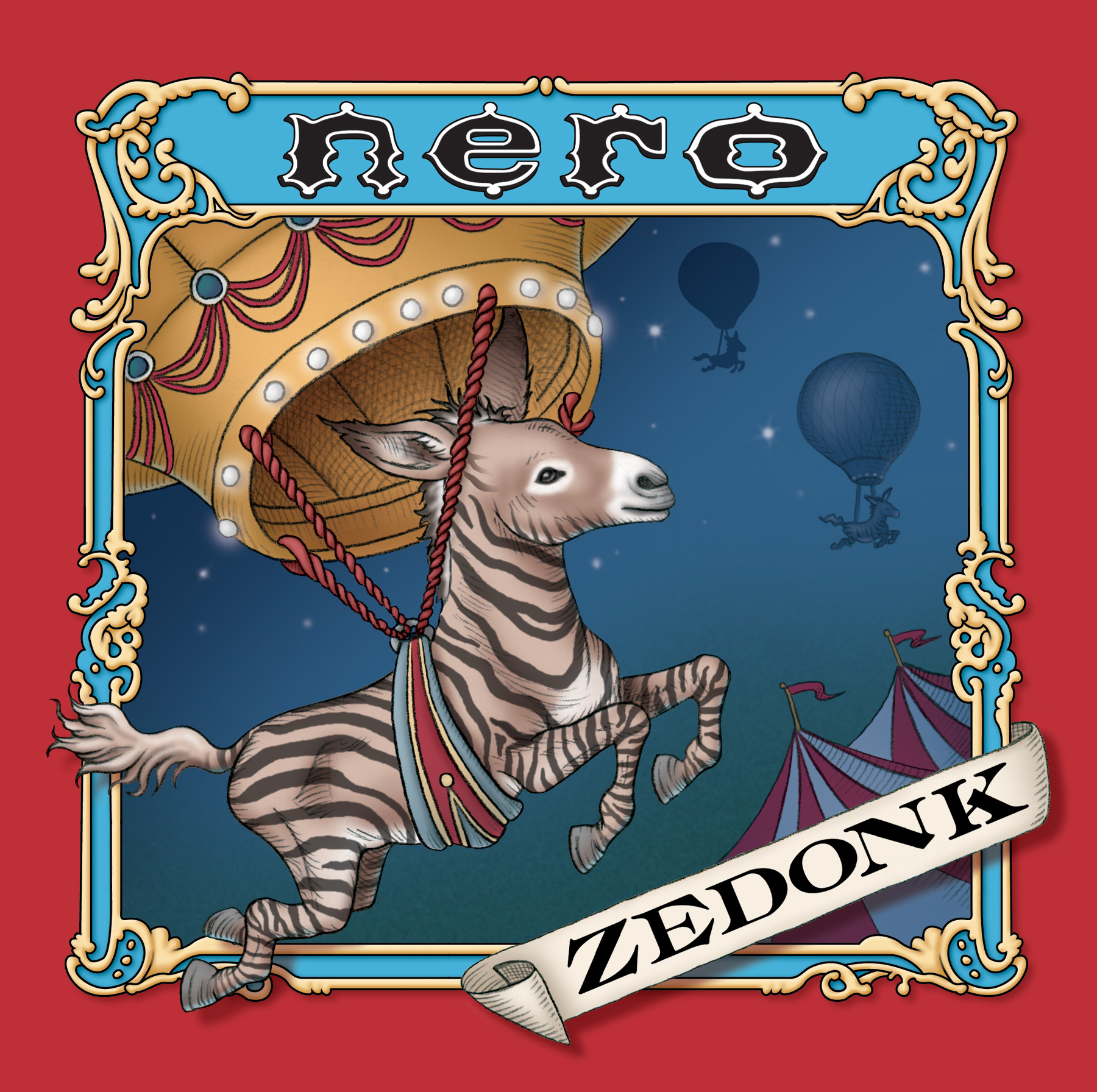 Zedonk Nero album cover