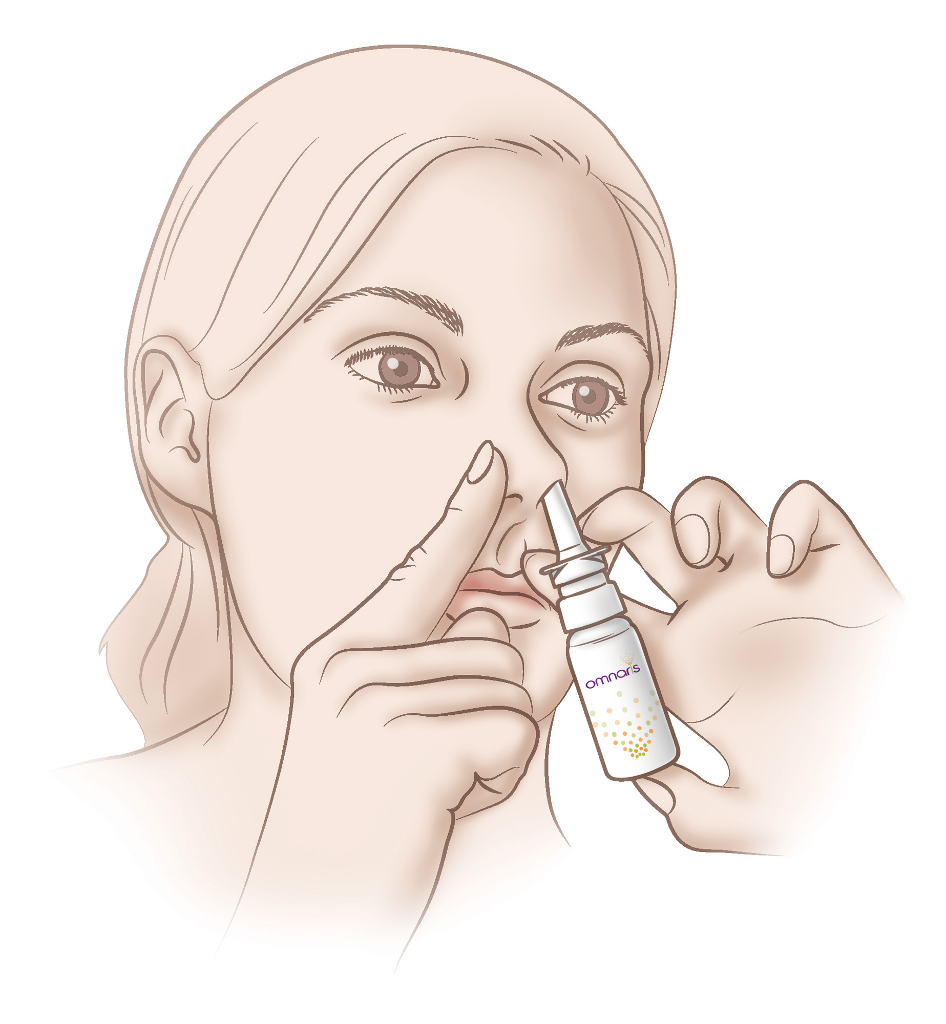 Omnaris nasal spray medication